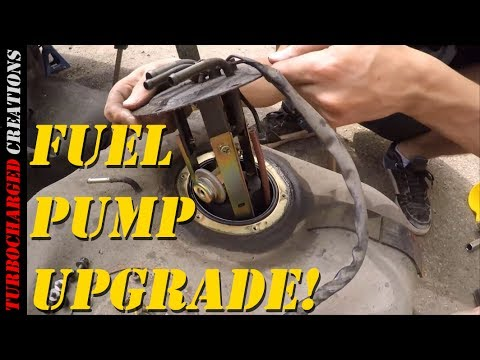 Z31 300zx Fuel Pump Upgrade - YouTube
