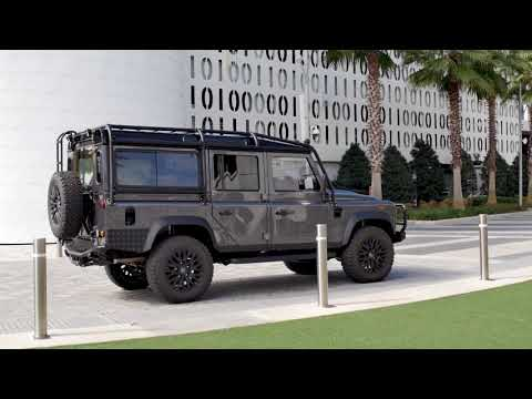 Project Duke - Bonatti Grey Metallic lackierter Land Rover Defender D110 LS-V8-Power von ECD