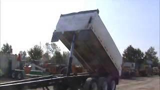 Sold! Sturdy Weld / Pioneer End Dump Pup Trailer Hydraulic Hoist bidadoo.com