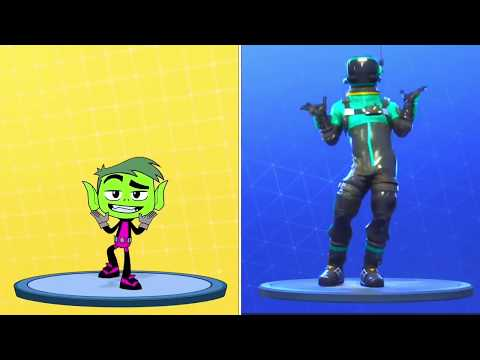 Cartoon Network Characters Doing Fortnite Dances