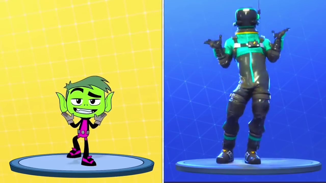Cartoon Network Characters Doing Fortnite Dances Youtube