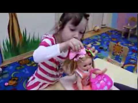 Частный детсад В гостях у Солнышка Сюжетно-ролевая игра Парикмахерская