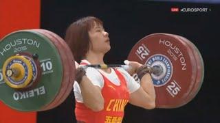 2015 World Weightlifting Championships, Women 69 kg \ Тяжелая Атлетика. Чемпионат Мира