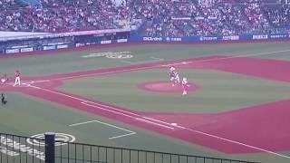 2018年6月15日QVCマリンスタジアム all for chibaデー ロッテ 習志野 美...