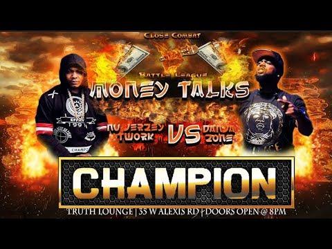CHAMPION | NU JERZEY TWORK VS DANJA ZONE - TOLEDO OHIO - MONEY TALKS EVENT