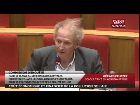 Audition - Gérard Feldzer, Consultant en aéronautique