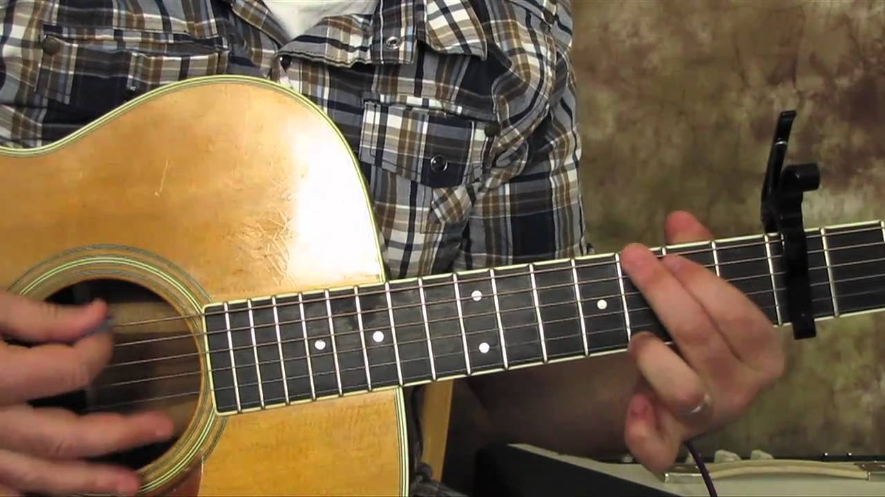how to play somewhere over the rainbow on guitar