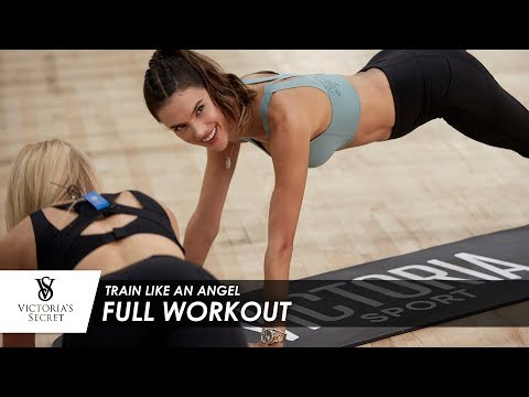 Train Like An Angel: Full Workout
