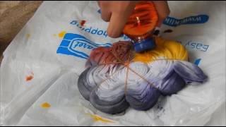 Cara Membuat batik jumputan