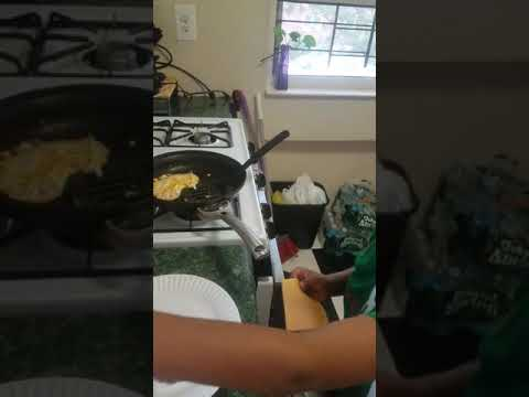 7 year old have a passion for cooking