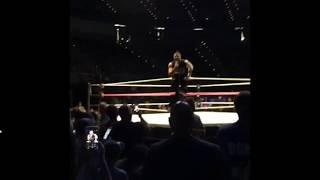 Kevin Owens promo after helping Sami Zayn in WWELansing 9.10.2017