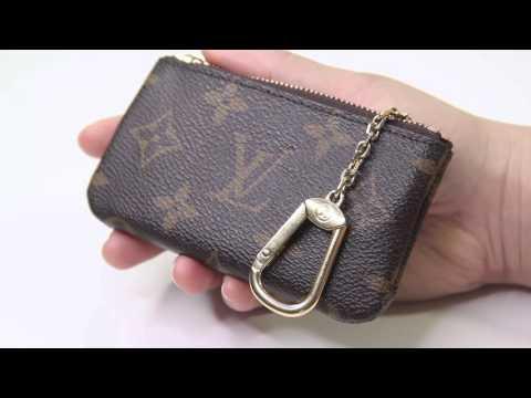 88538093553 Louis Vuitton Key Pouch Wear and Tear 2016 - YouTube