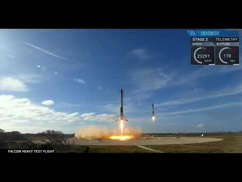 LOUD SONIC BOOMS - Falcon Heavy Landing - AMAZING Sounds!