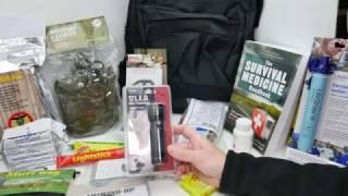 Survival Gear / Bug out Bag assembly & contents review -  Part 1