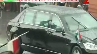 Watch: President Ram Nath Kovind leaves for President House