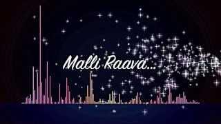Malli Raava - Cover