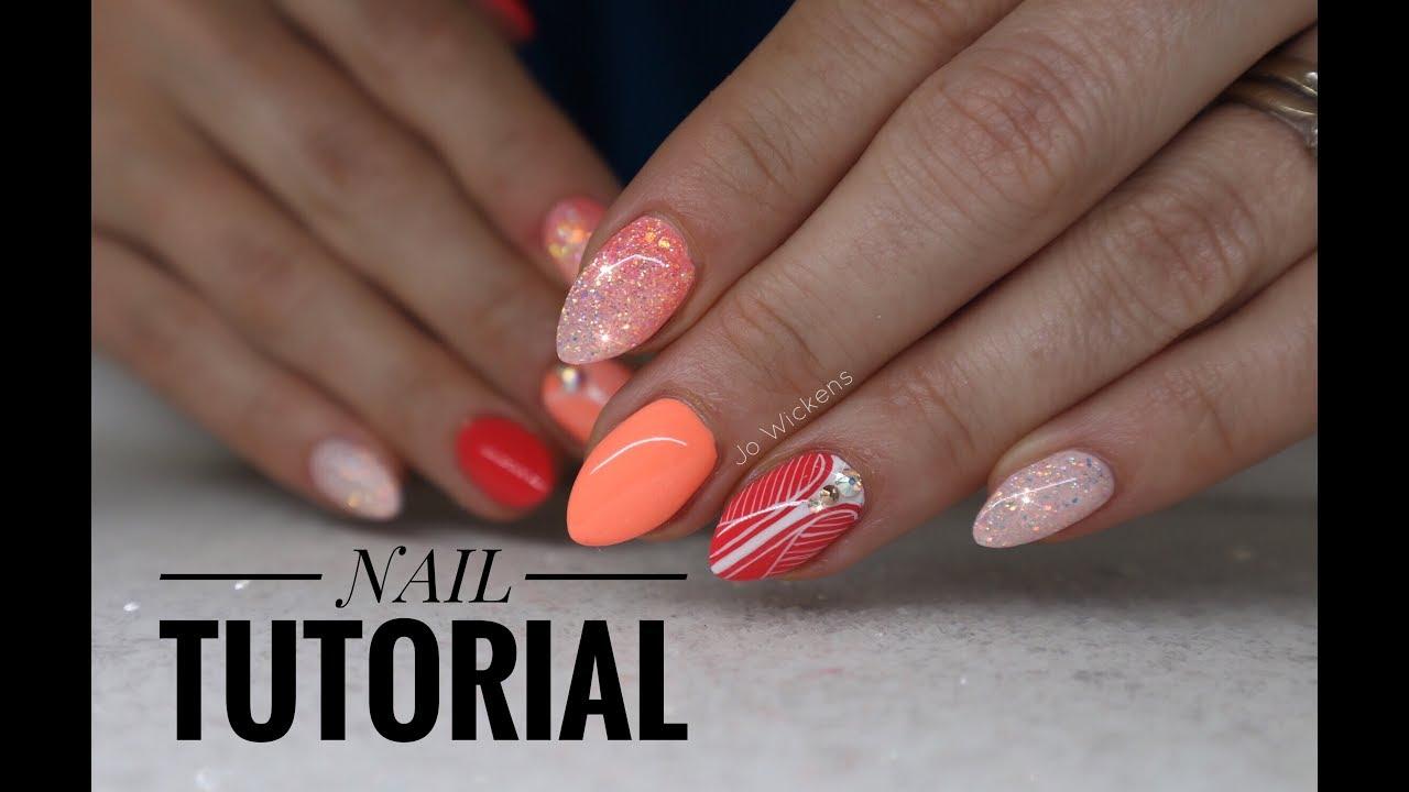Tutorial Summer Holiday Nails Using Light Elegance Summer Buzz