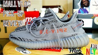 Adidas Yeezy Beluga 2.0 ( Bold Orange ) Mall Vlog Pick Up x 4k Review