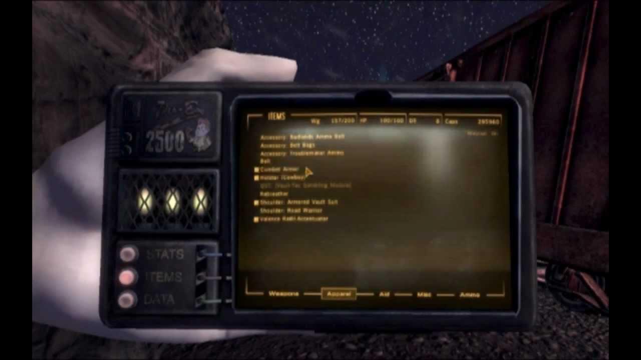 Pip-Boy 2500 (Fallout: New Vegas & Fallout 3 Mod)
