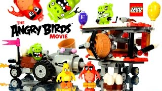 LEGO® The Angry Birds™ Movie 75821 Piggy Car Escape & 75822 Piggy Plane Attack Speed Build