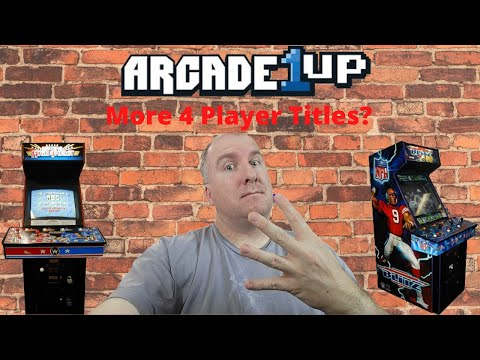 Arcade1up: We Want More 4 Player Titles! from PsykoGamer