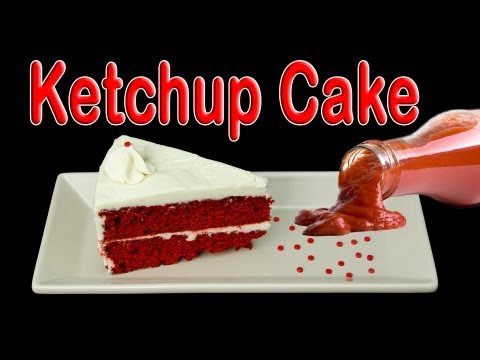 Ketchup Cake: How to Make Ketchup Cake by Cookies Cupcakes and Cardio