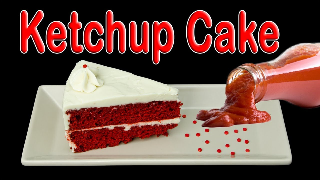 Ketchup Cake How to Make Ketchup Cake by Cookies Cupcakes and