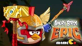 Angry Birds Epic: NEW Costumes Red Birds - CAVE 5 Burning Plain Level 2