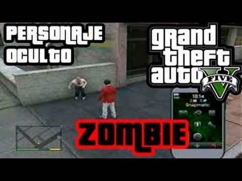 Gta v personaje secreto easter egg zombie youtube for Cuarto personaje gta 5
