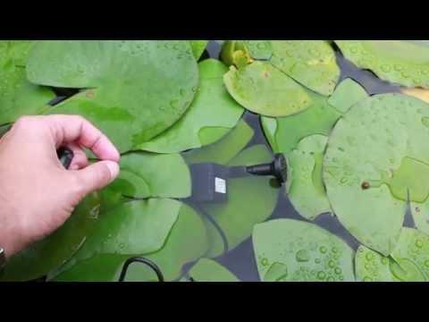 solar powered submersible mini fountain pump
