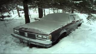 1986 Cutlass Supreme Cold Start After 60 Days Parked