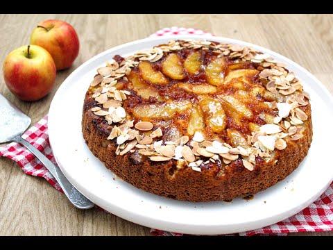 gâteau-renversé-aux-pommes-caramélisées