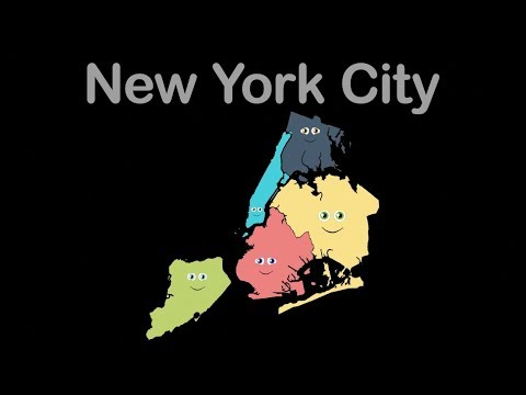 New York City/New York City Geography/New York City 5 Boroughs