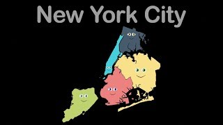 New York City/New York City Song/New York City Geography/New York City 5 Boroughs