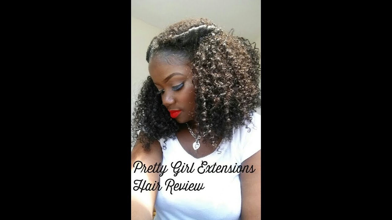 Pretty Girl Extensions Hair Review Youtube