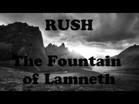 The Fountain of Lamneth (lyrics) - Rush