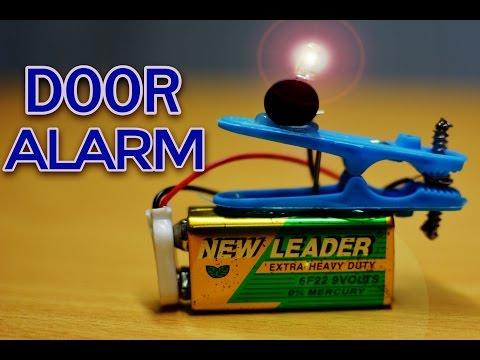 DIY Door Alarm | How to Make a Door Alarm | Electronics projects