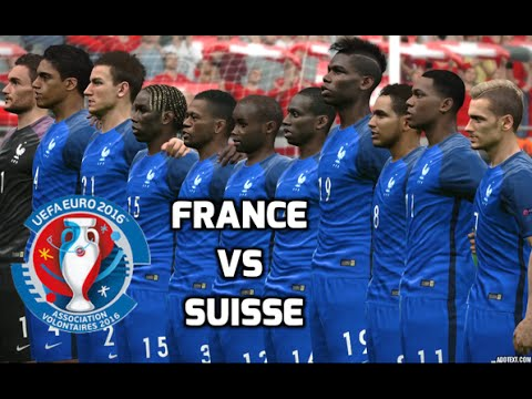 [HD] Euro 2016 | France vs Suisse #03 Match de Groupe PES 2016 FR 1080p60