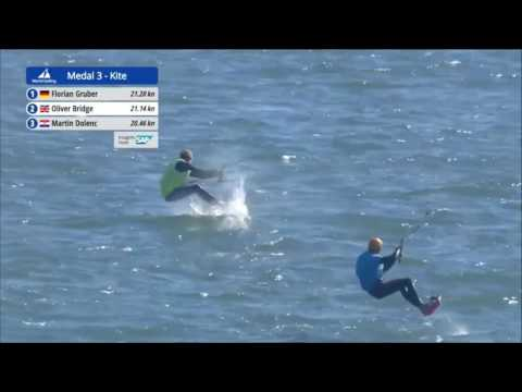 2016 Sailing World Cup Final Melbourne - Formula Kite Medal Race 3