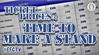 Ticket Prices | Time For Everton To Take A Stand