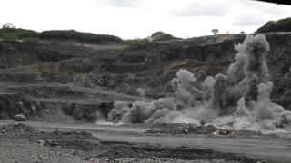 Blasting Bahau Quary