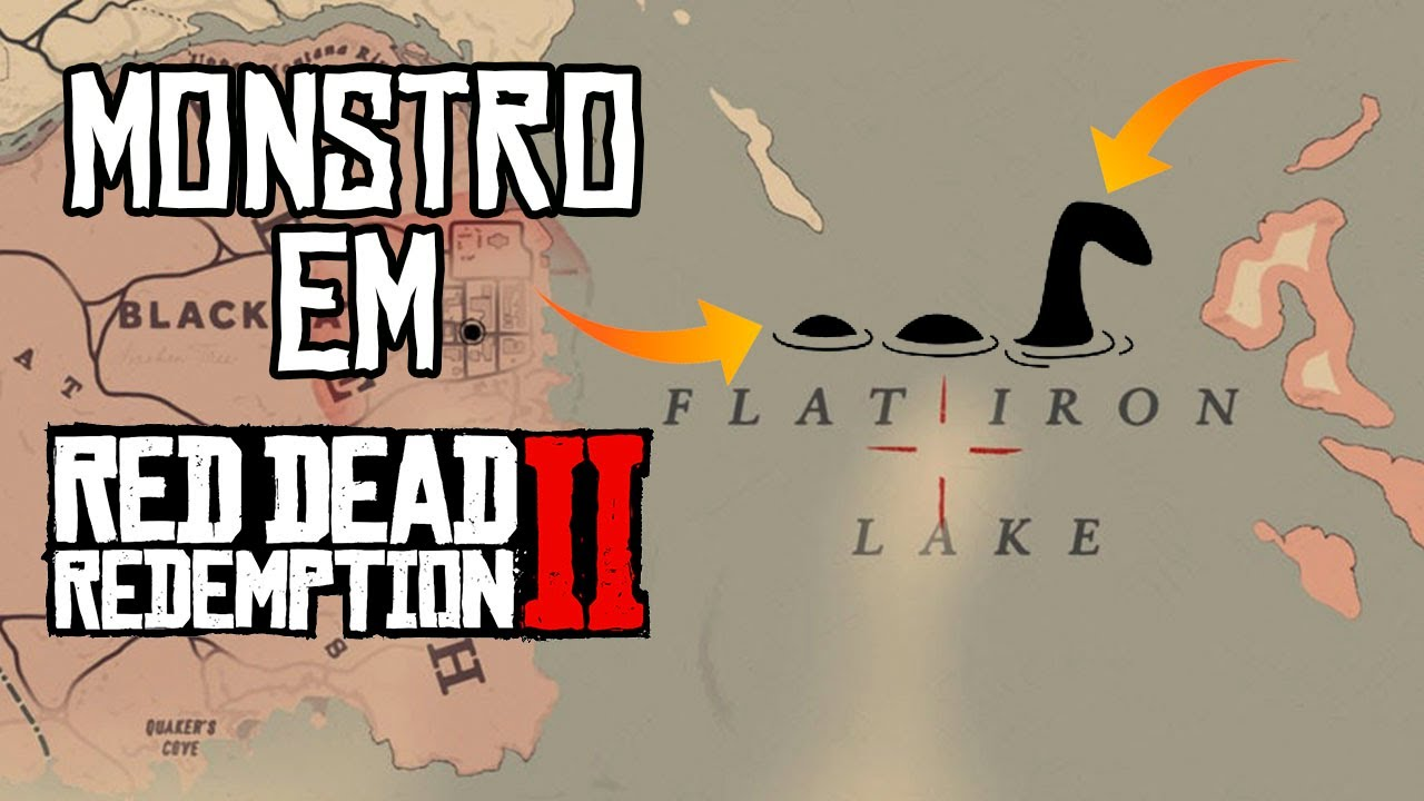 O MONSTRO DE FLAT IRON LAKE || RED DEAD REDEMPTION 2
