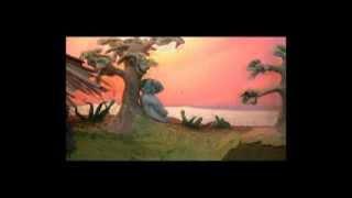 บ้านดิน-การ์ตูนดินปั้น Clay animation-Earthen Building : Love is like a butterfly