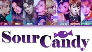 """How Would BTS & BLACKPINK Sing """"SOUR CANDY"""" By Lady Gaga, BLACKPINK (FANMADE)"""