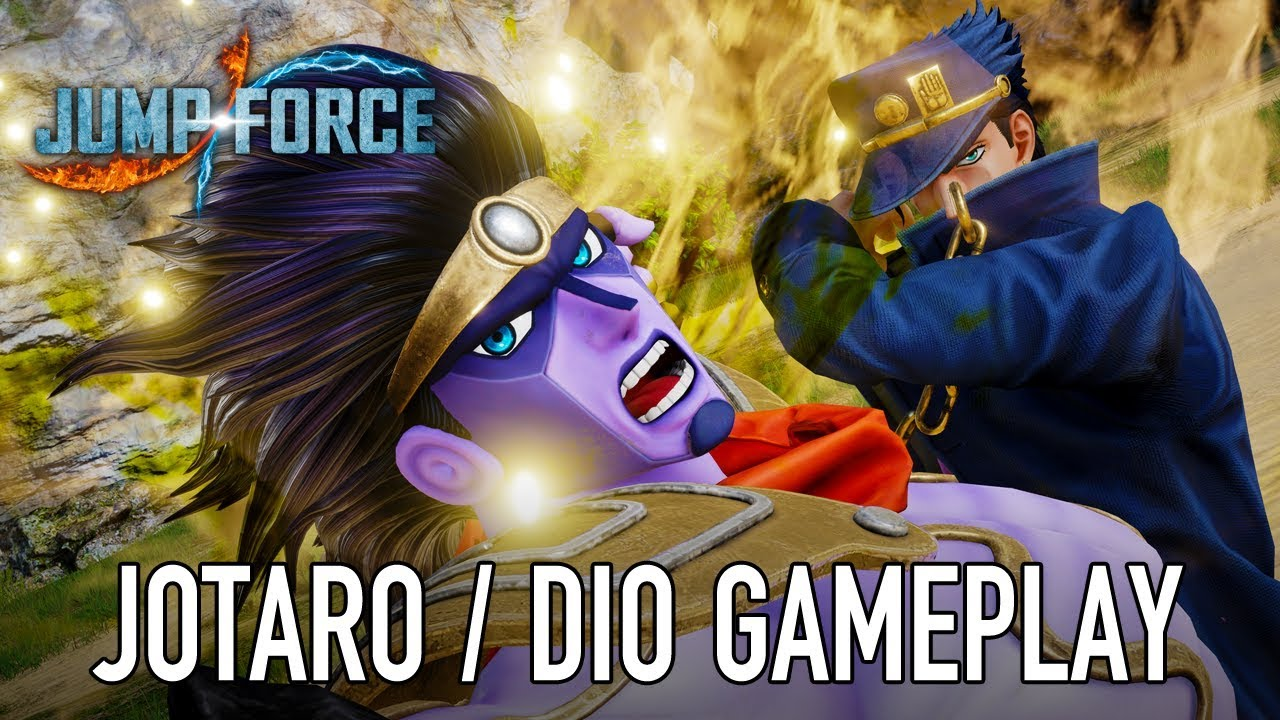 JUMP Force - PS4/XB1/PC - Jotaro & Dio (gameplay trailer)