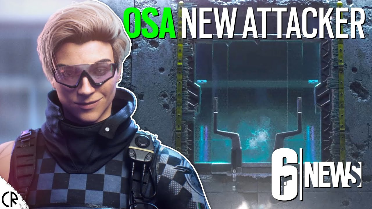 Download OSA New Attacker - Crystal Guard - CGI Trailer - 6News - Rainbow Six Siege