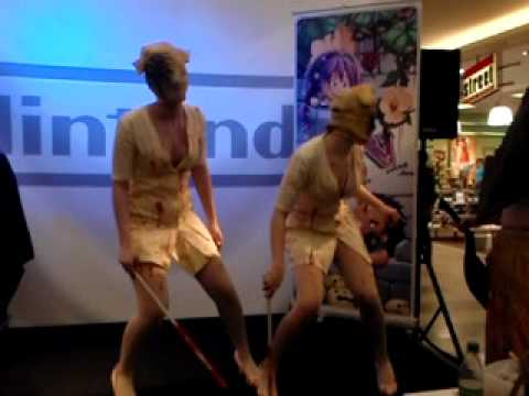 silent hill cosplay group 3 games spandauer arcaden youtube. Black Bedroom Furniture Sets. Home Design Ideas