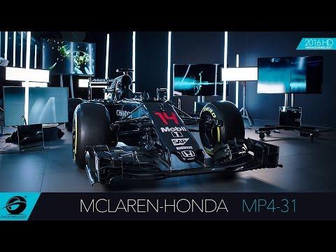 McLaren-Honda MP4-31 | 2016 NEW Formula One F1 Car