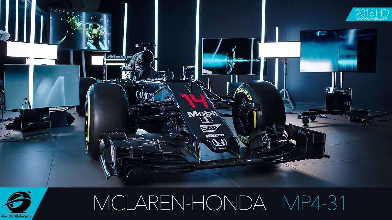 mclaren-honda mp4-31 | 2016 new formula one f1 car - youtube