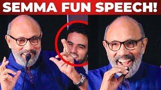 Sathyaraj SEMMA KALAAI Speech! | Kanaa | Aishwarya Rajesh | Sivakarthikeyan | Arunraja Kamaraj